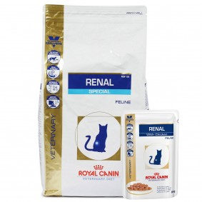 Royal Canin Vet Diet Renal Special RSF 26 4kg + 12x85g
