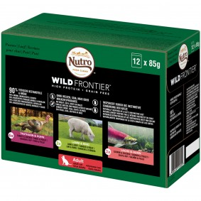 Nutro Adult Wild Frontier Mixpack 12x85g