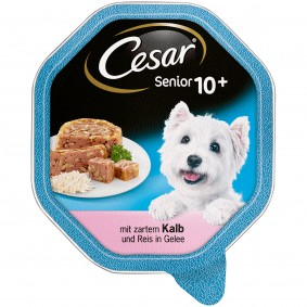 Cesar Vital 10+ mit zartem Kalb & Reis