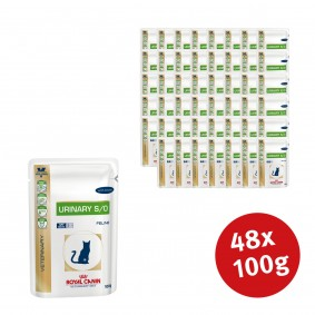 Royal Canin Vet Diet Nassfutter Urinary S/O Chicken - 48x100g Sale Angebote Burg (Spreewald)