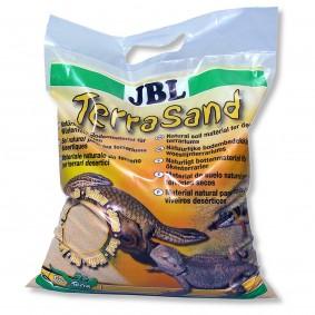 JBL TerraSand Sable pour terrariums - 7,5 kg - jaune