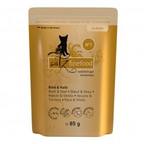 catz finefood - No. 7 Rind & Kalb 16x85g