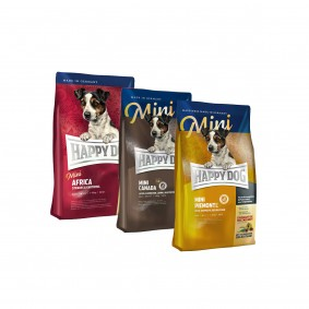 Happy Dog Surpreme Mini Mixpaket getreidefrei 3x4kg