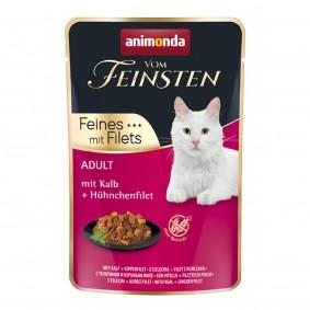 Animonda Vom Feinsten Adult Feine Filets mit Kalb und Hühnchenfilet