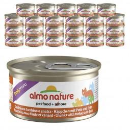 Almo Nature Daily Menü 24x85g Häppchen