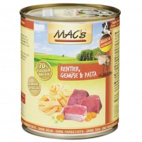 MAC's Dog Hunde-Nassfutter Rentier und Gemüse