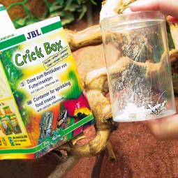 JBL CrickBox - Schütteldose zum Bestäuben von Futterinsekten