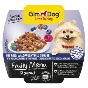 GimDog Fruity Menu Ragout mit Rind Waldfrüchten & Gemüse