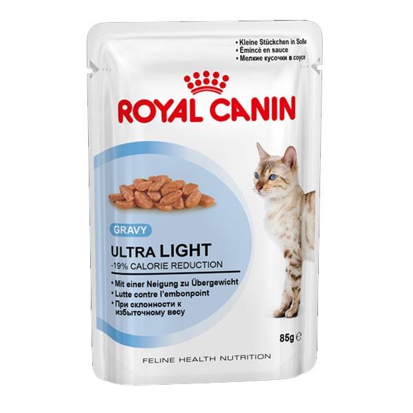 Royal Canin Katzenfutter Ultra Light in Soße