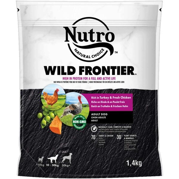 NUTRO WILD FRONTIER Adult 10-30kg Truthahn & Huhn