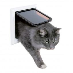 Trixie 4-Wege Katzenklappe XL mit Tunnel