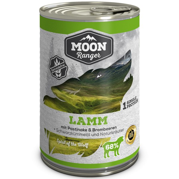 Moon Ranger Lamm mit Pastinake & Brombeeren 400g