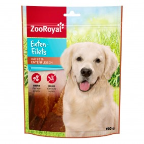 ZooRoyal Hundesnack Enten-Filets 150g