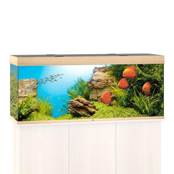 Rio 400 Aquarium ohne Schrank - Helles Holz
