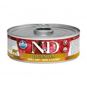 N&D Cat Quinoa Wachtel & Kokusnuss