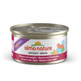 Almo Nature Daily Menu Cat Mousse mit Kaninchen