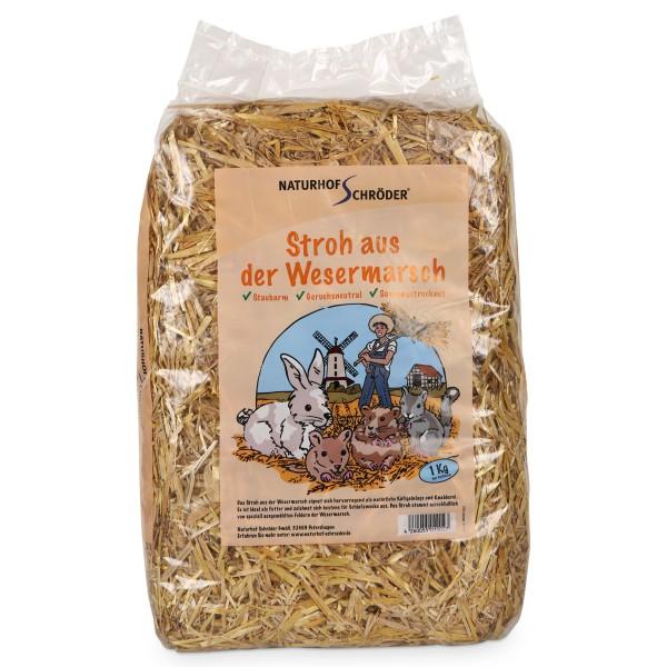 Naturhof Schröder Stroh locker gestopft 1 kg
