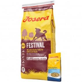 Josera Festival 15kg + Josera Knuspies 1,5kg GRATIS