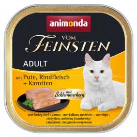Animonda Vom Feinsten Adult Schlemmerkern mit Pute, Rindfleisch und Karotten
