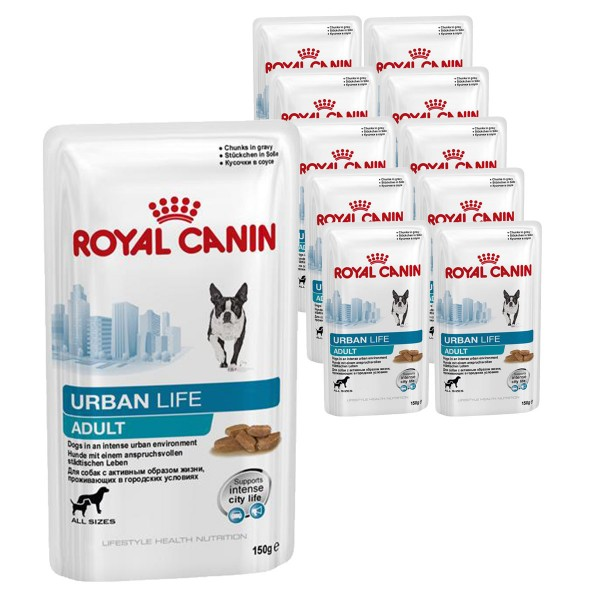 royal canin hundefutter urban adult dog 10x150g bei zooroyal. Black Bedroom Furniture Sets. Home Design Ideas