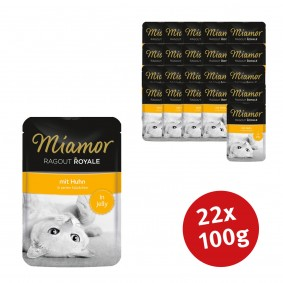Miamor Katzenfutter Ragout Royale in Jelly Huhn