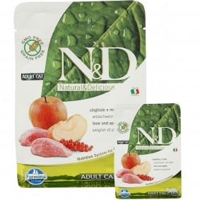N&D Wildschwein&Apfel Adult getreidefrei 1,5kg + 300g GRATIS