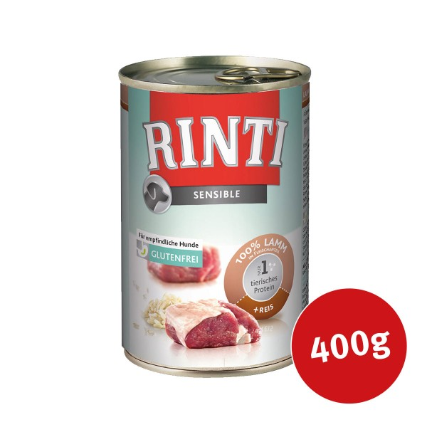 Rinti Nassfutter Sensible Lamm und Reis