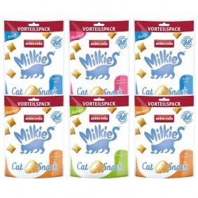 Milkies Adult Selection Knusperkissen Multipack 6 x 120 g