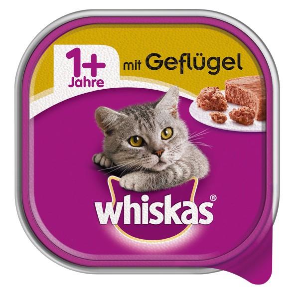 Whiskas Adult 1+ mit Geflügel 32x100g