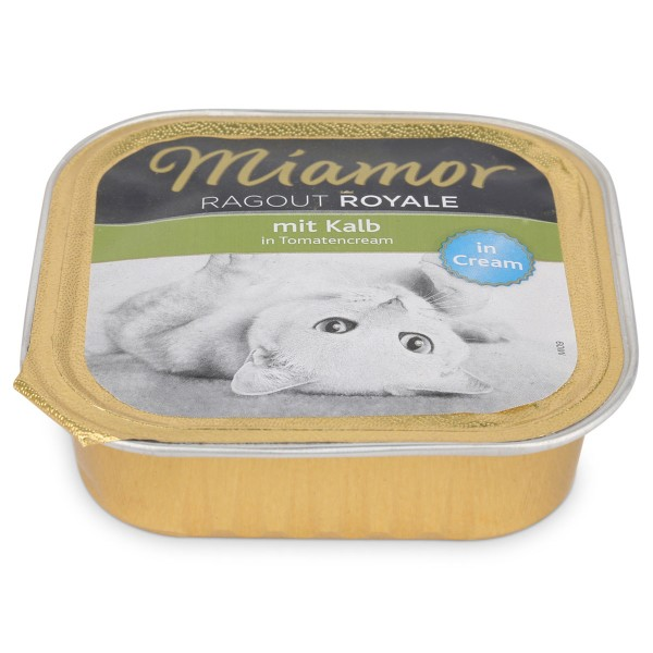 Miamor Ragout Royale Kalb in Tomatencream 100g Alu-Schale