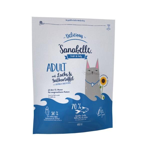 Sanabelle Adult Lachs und Süßkartoffel - 400g