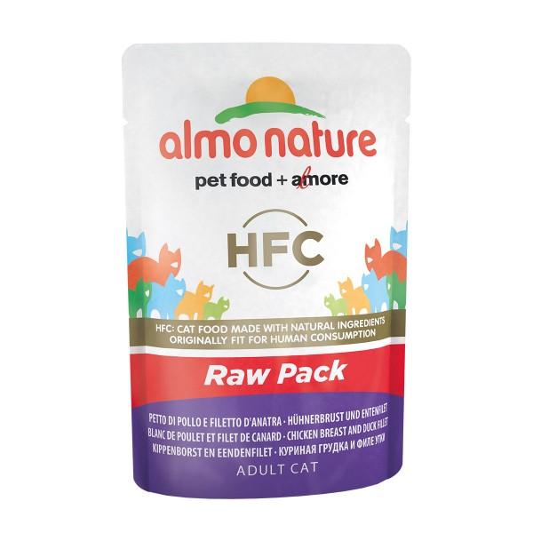 Almo Nature HFC Raw Hühnerbrust und Entenfilet