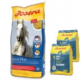 Josera Sport Plus 20 kg + Josera SensiPlus 2 x 900 g gratis