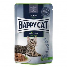 Happy Cat Culinary Meat in Sauce Weide Lamm Pouch