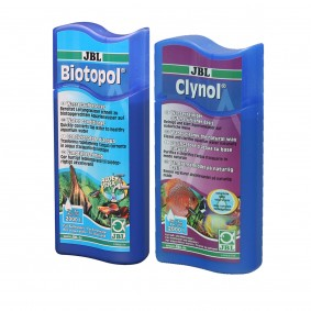 JBL Sparbundle Biotopol 500ml + Clynol 500ml