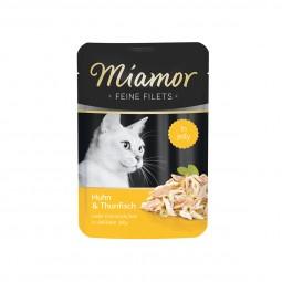Miamor Feine Filets Huhn und Thunfisch im Frischebeutel
