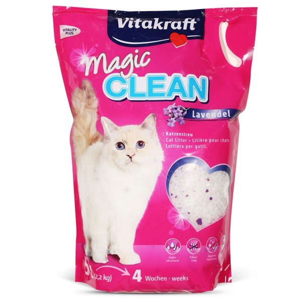 Vitakraft Katzenstreu Magic Clean Lavendel 5l
