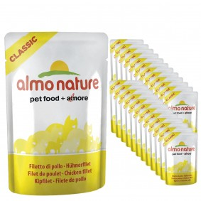 Almo Nature Classic Cat Pouches 24x55g