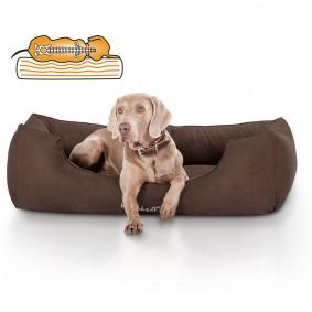Knuffelwuff orthopädisches Hundebett Amelie braun
