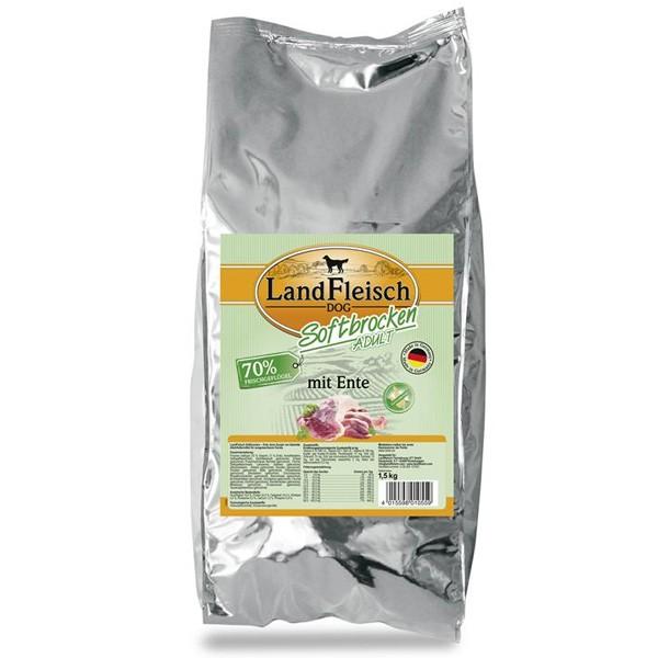 Landfleisch Dog Softbrocken mit Ente
