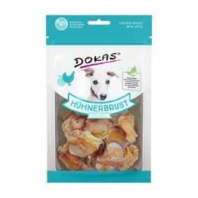 Dokas Hundesnack Hühnerbrust mit Apfel