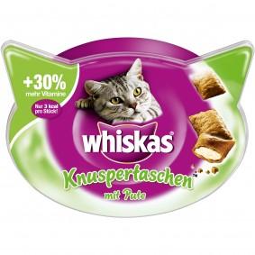 Whiskas Katzensnacks Knuspertaschen Pute 60g