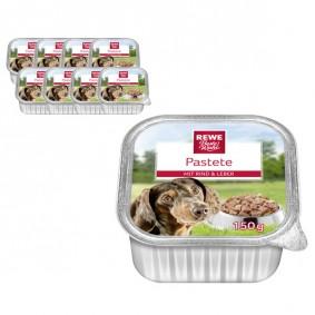 REWE Beste Wahl Hundefutter Pastete mit Rind und Leber