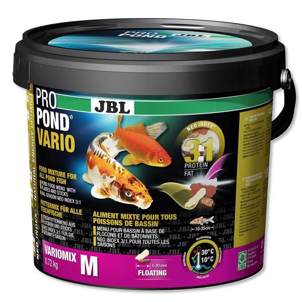 Jbl propond vario futtermix f r teichfische kaufen bei for Teichfische versand
