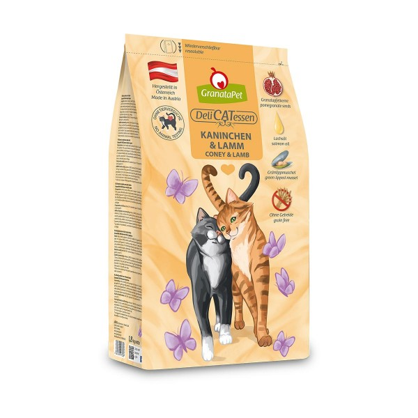 GranataPet DeliCatessen Trockenfutter Kaninchen & Lamm Adult