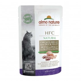 Almo Nature HFC Natural Hühnerbrust mit Entenfilet