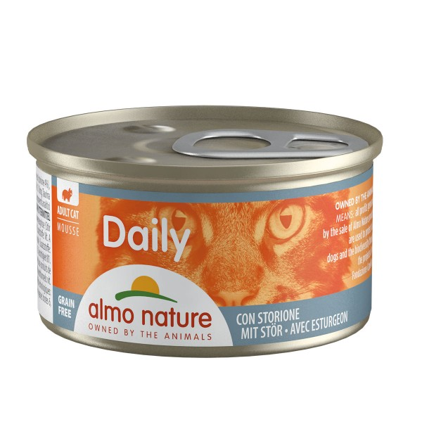 Almo Nature PFC Daily Menu Cat Mousse mit Stör