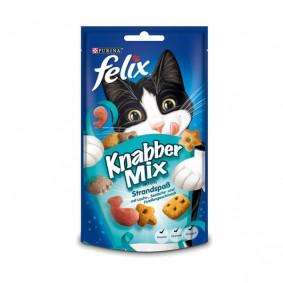 Felix Knabber Mix Katzensnack 60g Strandspaß 2+1 Gratis