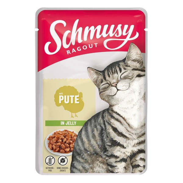 Schmusy Ragout mit Pute in Jelly