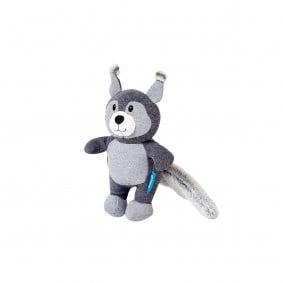 ZooRoyal hračka pro psy mýval, barva šedá a antracitová